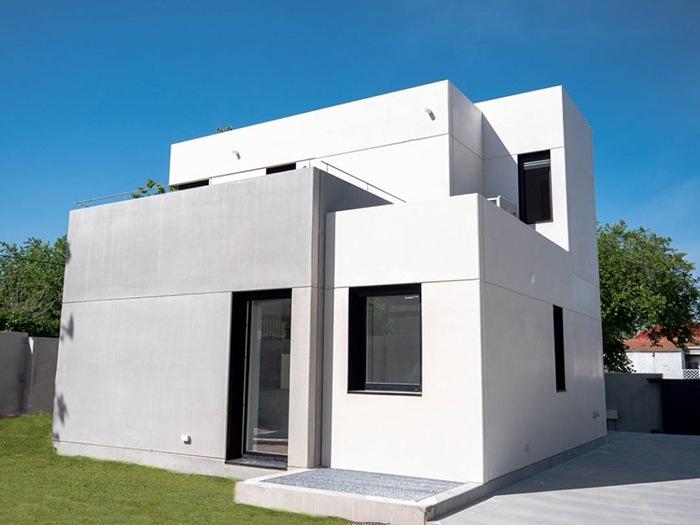 casa modular concreto