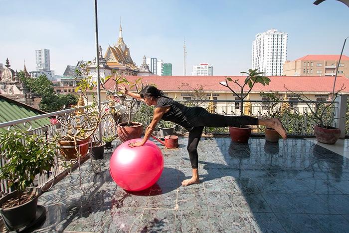 «Gente que ama lo que hace»: Maite Ardite, Directora y profesora del Estudio Maite Ardite Pilates. Phnom Penh (Camboya)