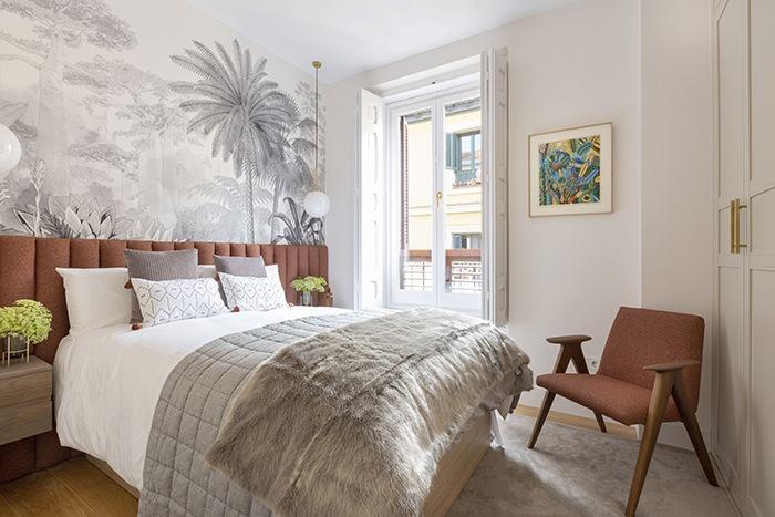 Olivar, un proyecto de interiorismo con toques mid century y colores relajantes