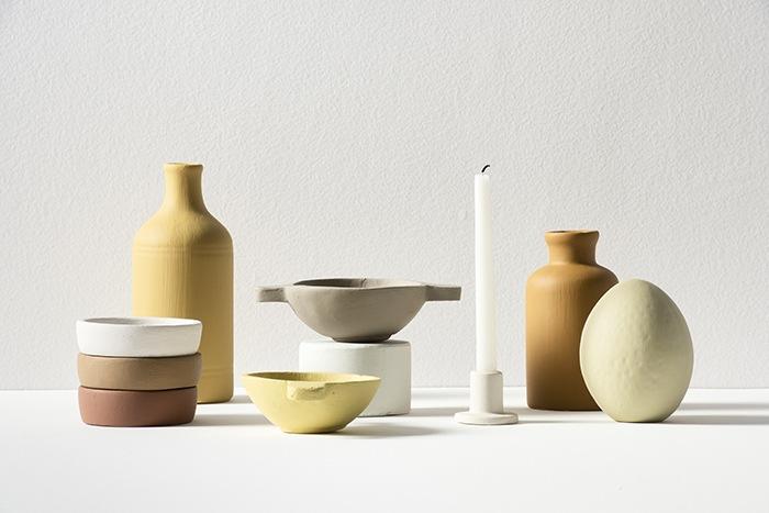ceramicas colores terracotas y ocres
