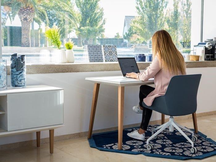 Home Office al estilo mediterráneo