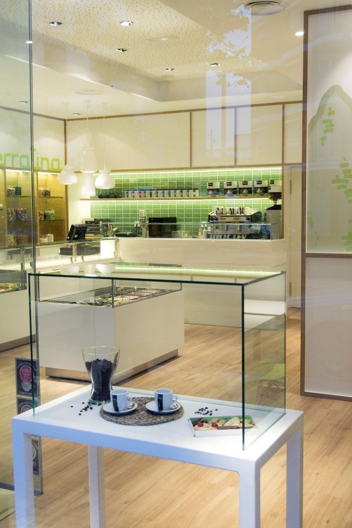 Interior de la pastelería Montserratina, Barcelona