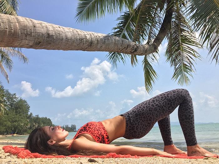 Gente que ama lo que hace: Susana Yábar, comunicadora e influencer de fitness y bienestar con más de 4 millones de seguidores. Thailandia