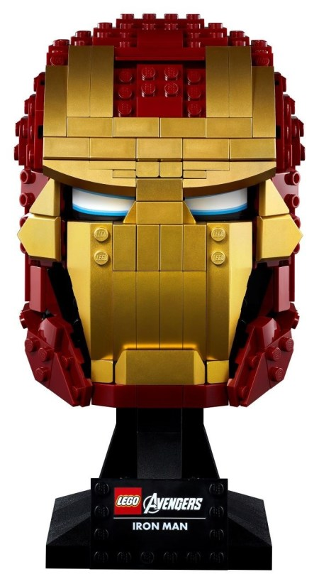 Casco de Iron Man de MARVEL de LEGO
