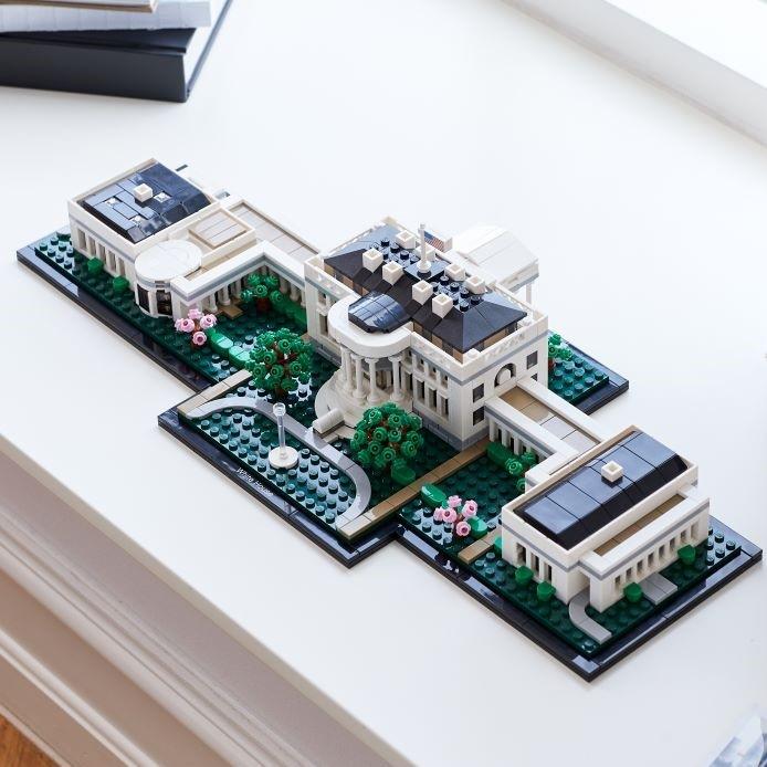 La Casa Blanca en LEGO
