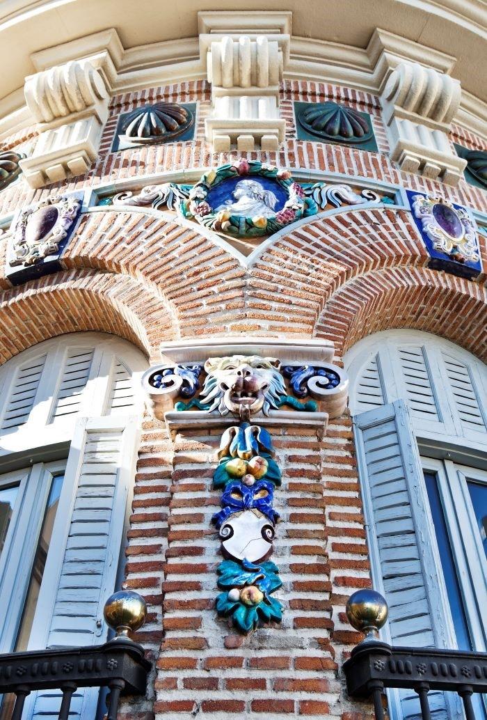 Detalle de la fachada de Casa Decor de 2021