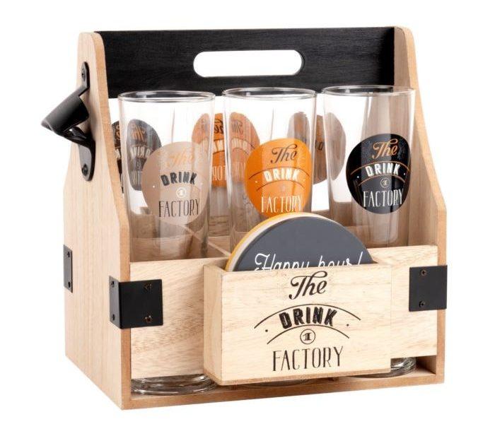 Caja de jarras de cerveza para hacer un regalo, Maisons du Monde