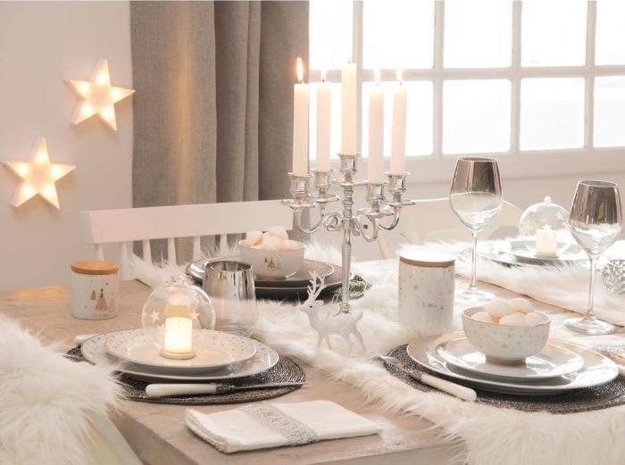 Plato hondo de porcelana para la mesa de Navidad