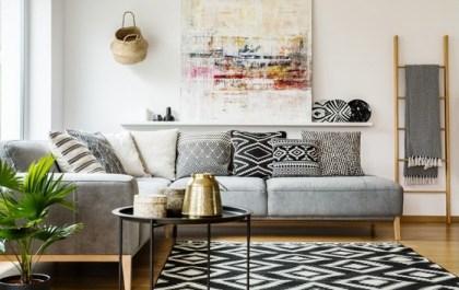 sofa chaiselongue gris