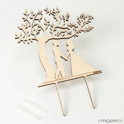 Figura para tarta de árbol de la vida