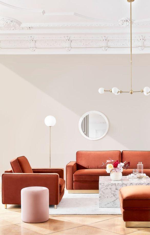 Ambiente estilo new cosmopolitan una de las tendencias de decoración de Westwing en 2021