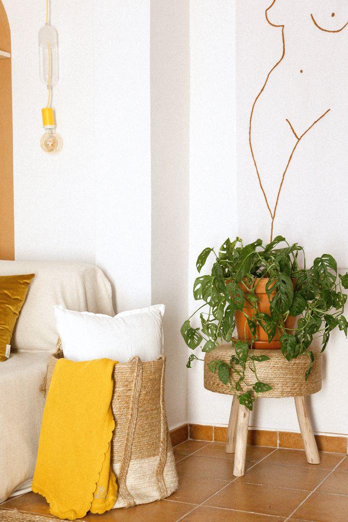 Colorterapia con el color amarillo para decoración interior
