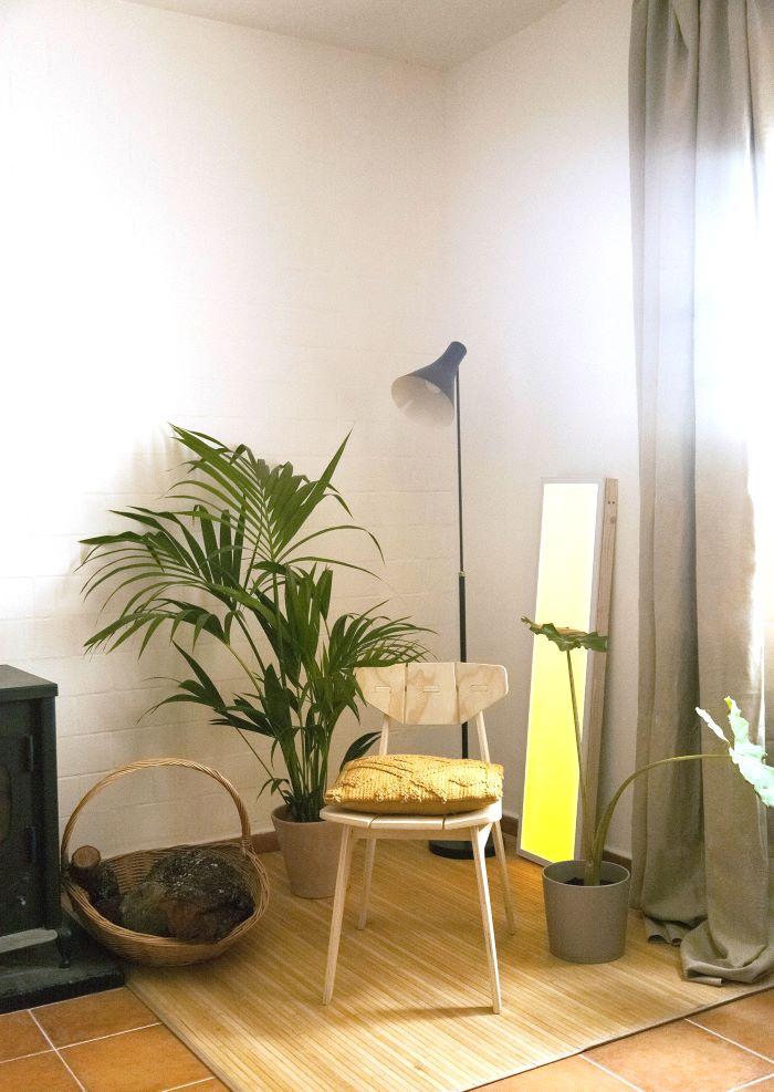 Colorterapia en color amarillo para decoración interior