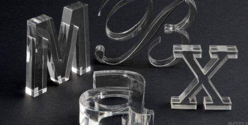 Corte laser de metacrilato transparente para dar forma a tus productos