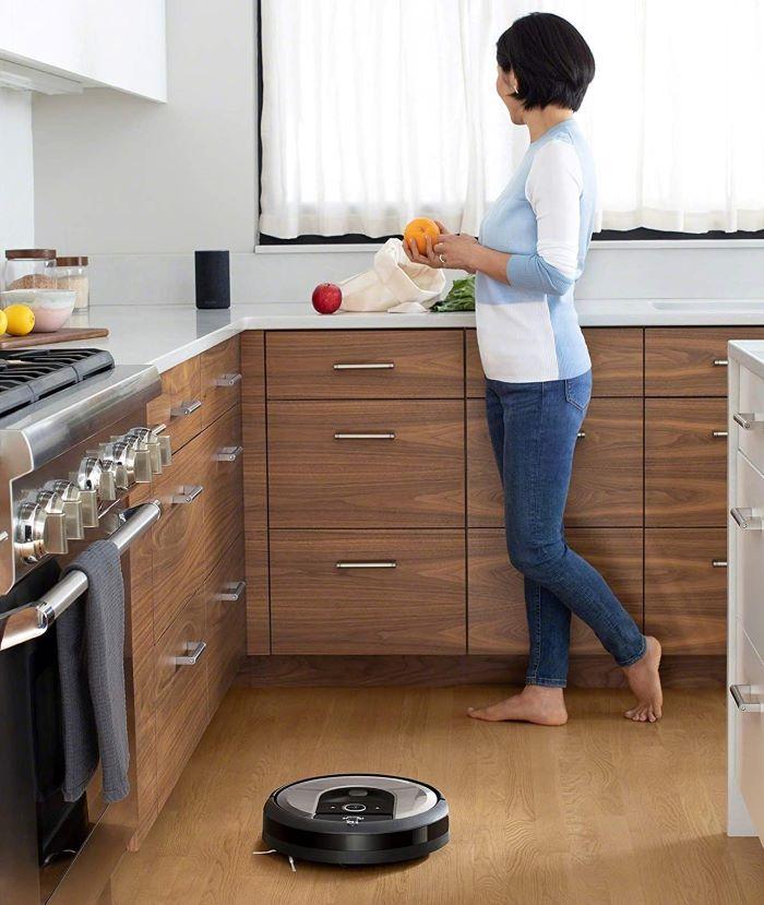 Robot aspirador Roomba i7 para limpiar tu hogar