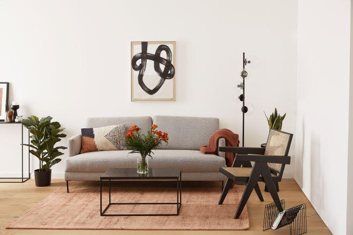 ambiente con decoración con color breige