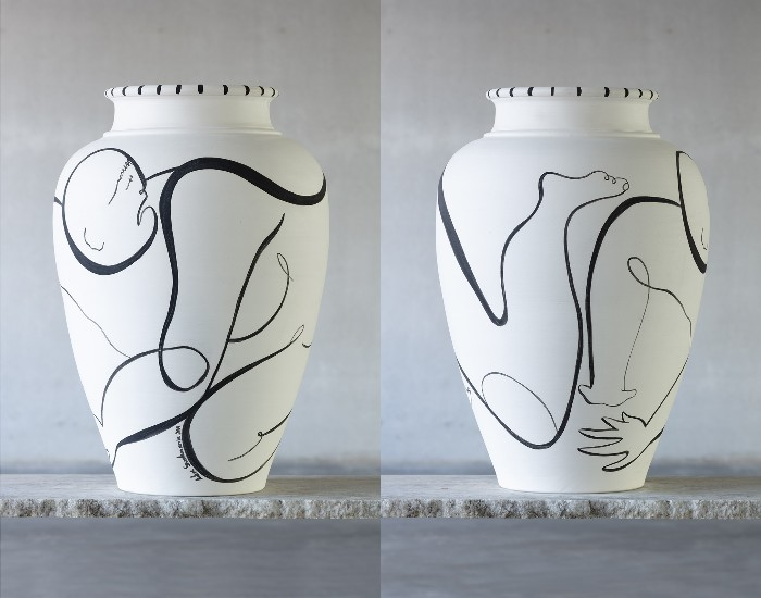 cerámica blanca