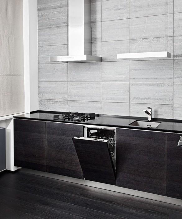 lavavajillas en una cocina moderna