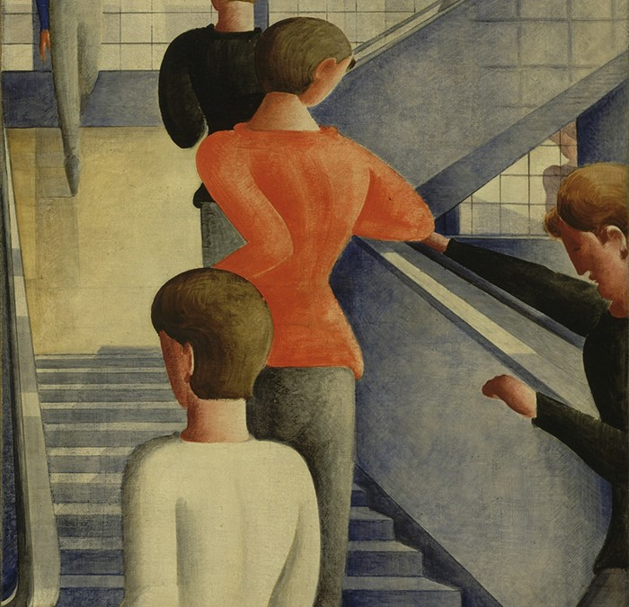Oskar Schlemmer, arte abstracto y el ballet triádico