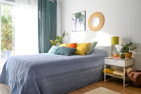 Dormitorio de Leroy Merlín para pareja