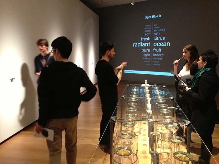Proyecto arquitectura sensorial Art of Scent interior