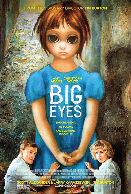 Big eyes portada pelicula