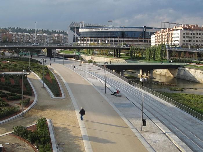 puentes madrid rio