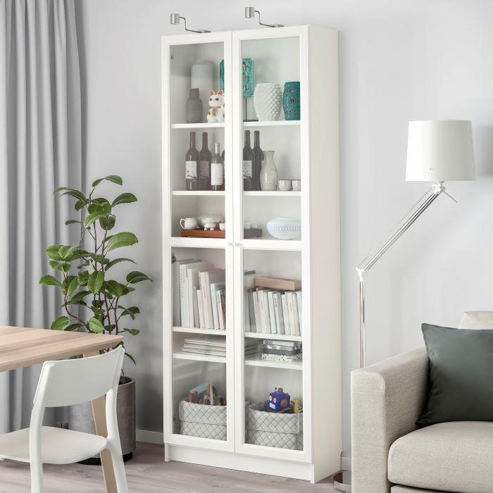 Estantería Billy color blanca rebajada de IKEA