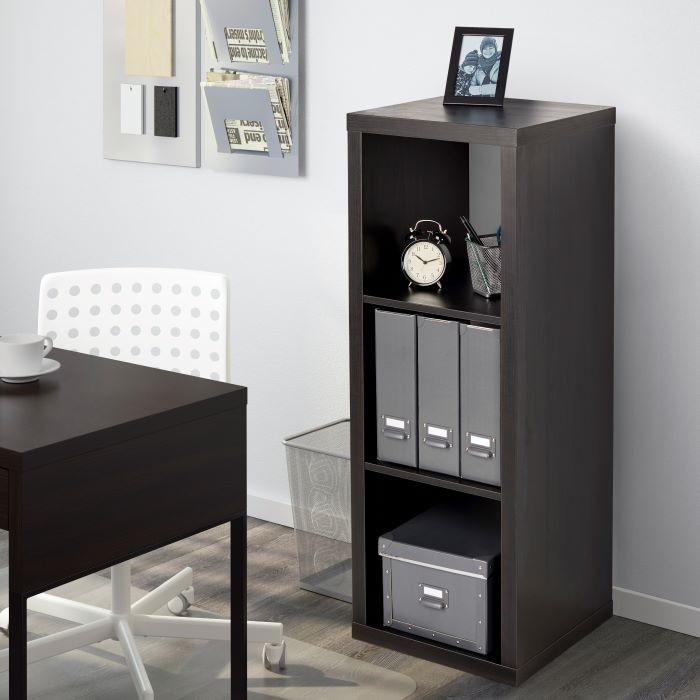 estantería KALLAX negra IKEA rebajada