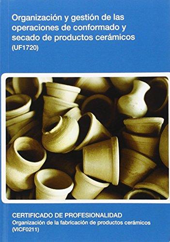 Libros: Organización y gestión de las operaciones de esmaltado – decoración de productos cerámicos