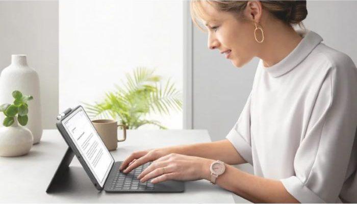 regalo para el día de la madre de funda con teclado para iPad