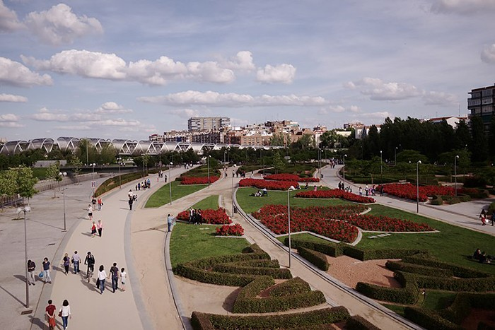 paseo madrid rio