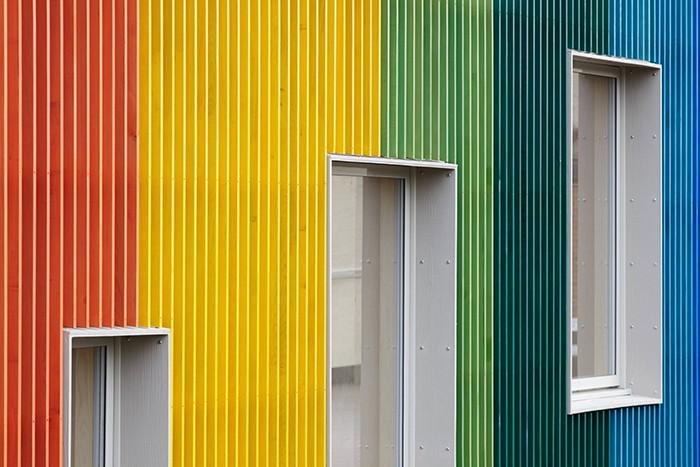 Prestwood Infant School arcoiris colores detalle