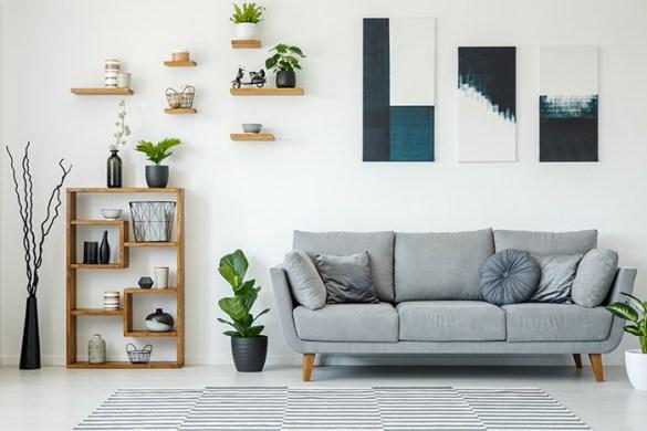 salón decoración sencilla