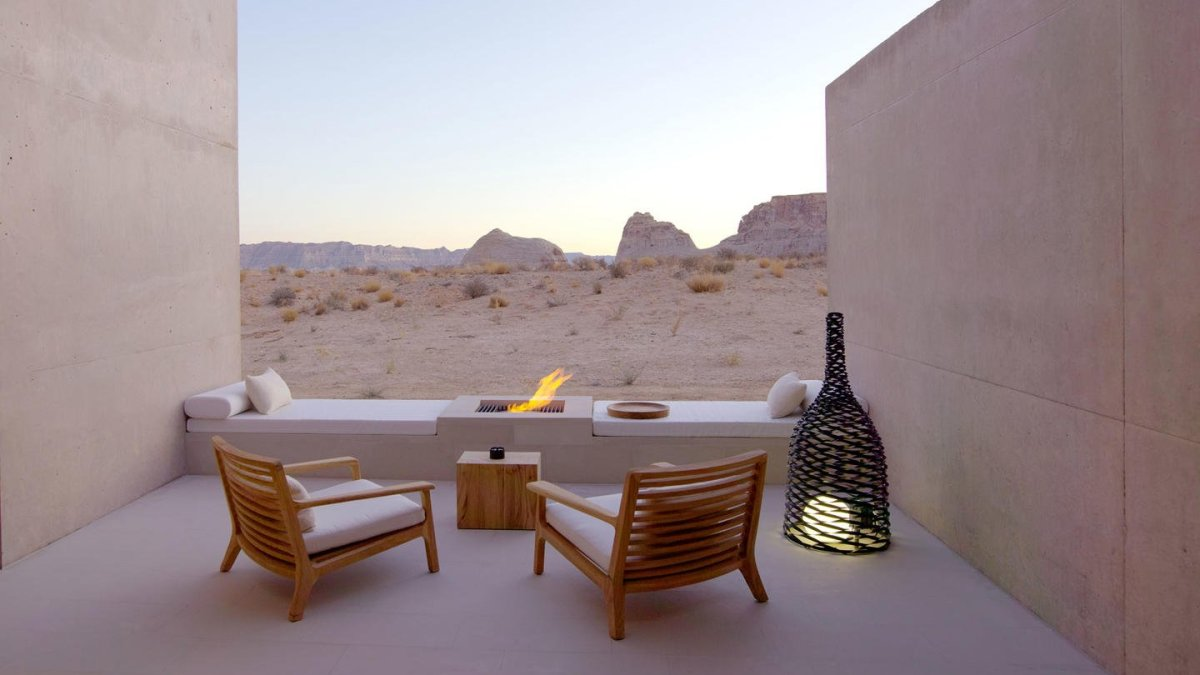 Amangiri, un resort de lujo en el desierto