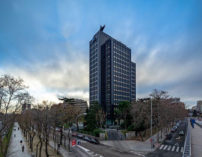 Edificio Castellana en Madrid