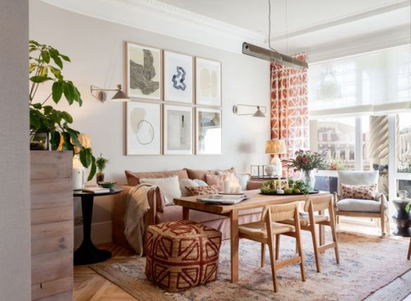Espacio de salón La Redoute de Mónica Garrido para Casa Decor 2021