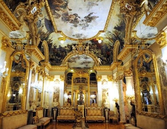 Museo Cerralbo vista interior sala grande