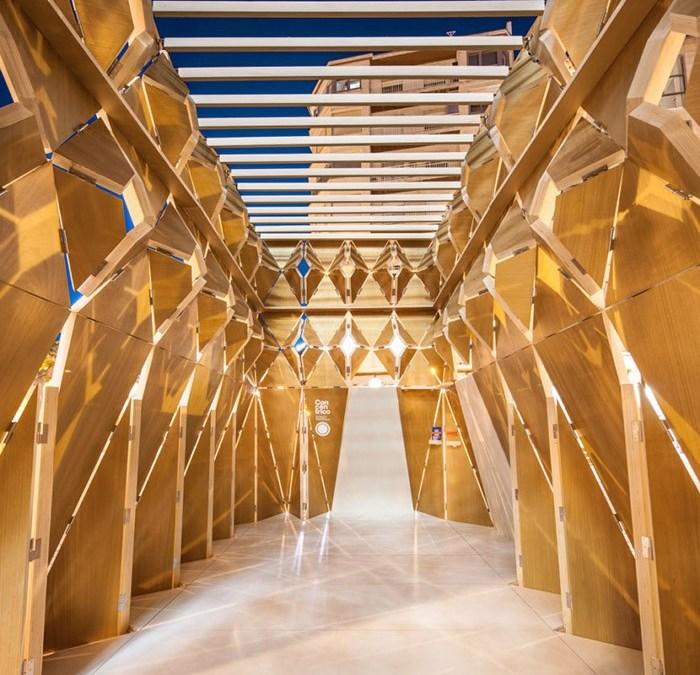 Concéntrico: La arquitectura efímera toma las calles de Logroño