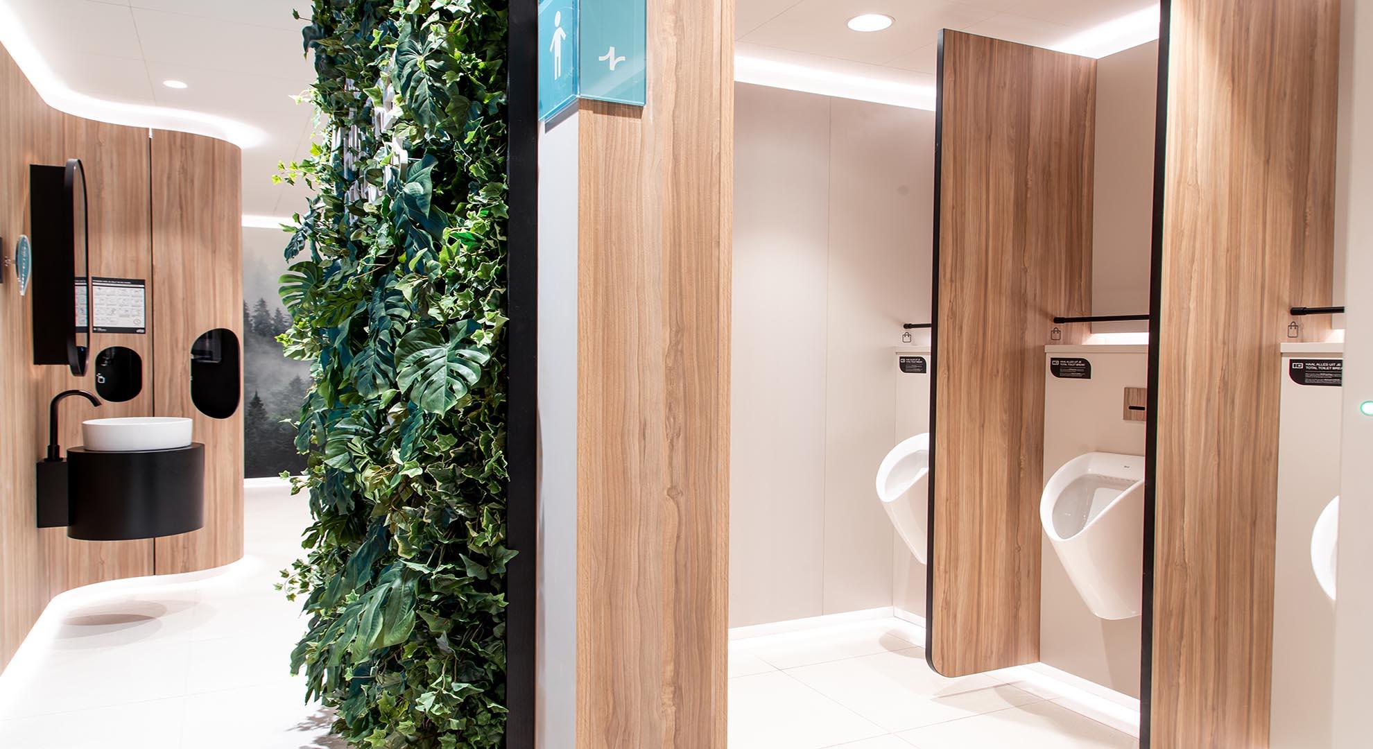diseño baños públicos