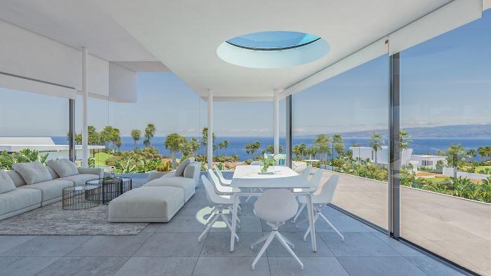 Casa Adama con vistas al mar