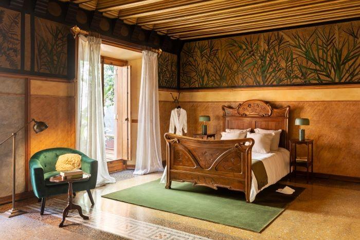 Dormitorio en Casa Vicens para alojamiento con Airbnb