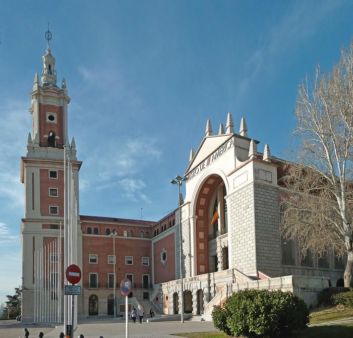 Imagen exterior del Museo de América en Madrid