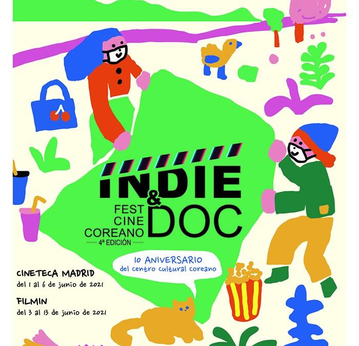 4º Festival de Cine Independiente Coreano, INDIE & DOC en España