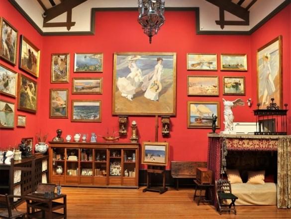 Museo Sorolla interior Sala 3