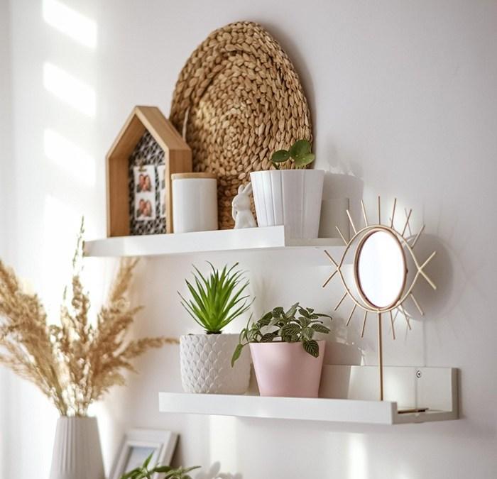 10 consejos para decorar las estanterías de tu casa