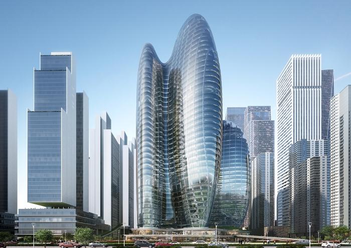 rascacielos shenzhen china