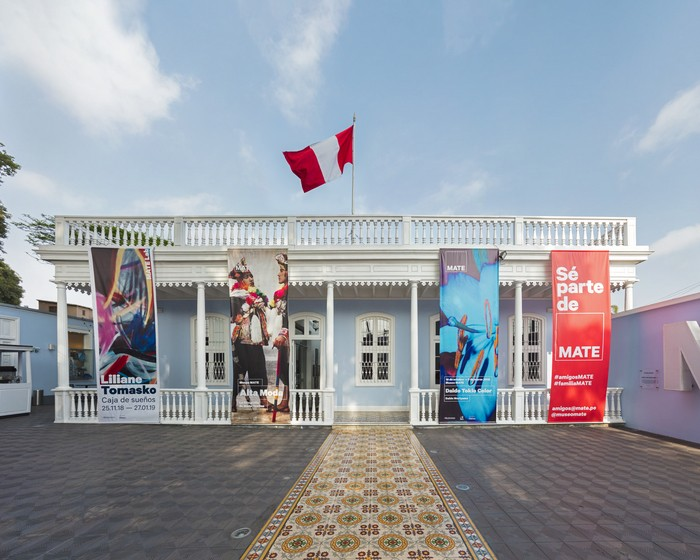 fachada exterior del Museo MATE de Lima