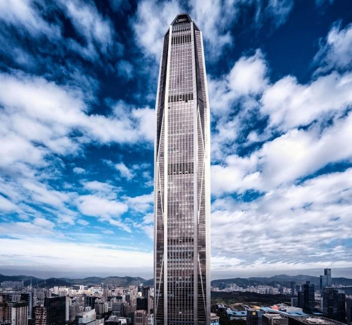 rascacielos metalico shenzhen