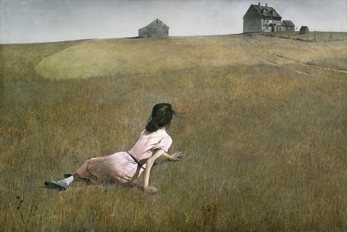 Obra pictórica Christina's World de Andrew Wyeth